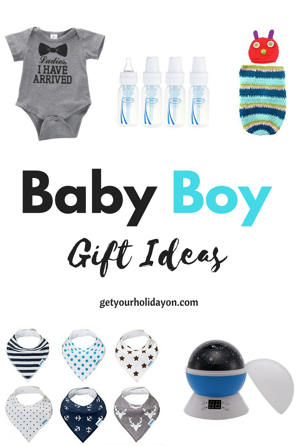 Newborn Baby Gift Ideas Boy : Baby boy gift ideas get your holiday on