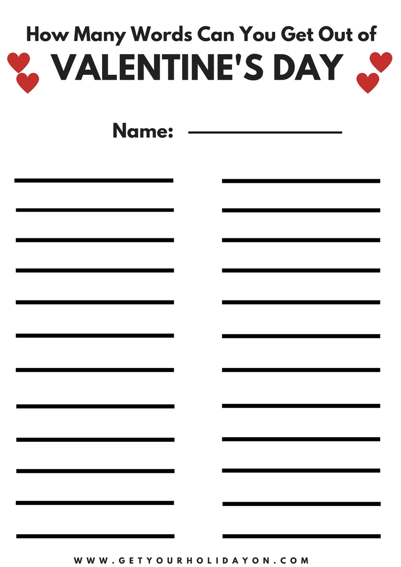 It's just an image of Lucrative Free Printable Valentine Games for Adults
